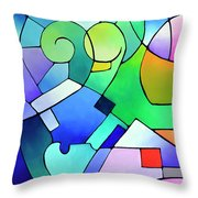 Daydream Canvas One Throw Pillow