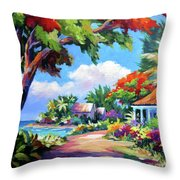 Daylight And Shade Throw Pillow