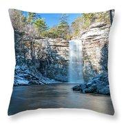December Morning At Awosting Falls 2018 Throw Pillow