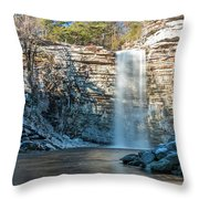 December Morning At Awosting Falls II 2018 Throw Pillow