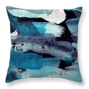 Deep Blue #1 Throw Pillow