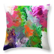 Delicate Canvas Two Throw Pillow