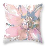 Delicate Flower Burst    Throw Pillow