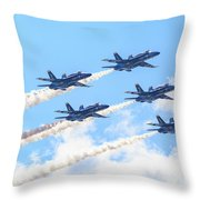 Delta Sun Throw Pillow