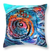 Demo Fish Throw Pillow