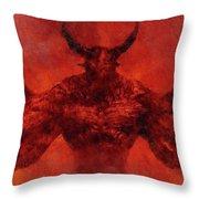 Demon Lord Throw Pillow