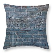 Denim- Sexy Blue Jeans Throw Pillow