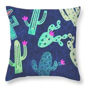 Desert Nights Throw Pillow