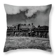 Detroit Terminal Railroad Throw Pillow