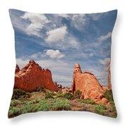 Dinosaur Shaped Rock Throw Pillow