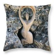 Divine Goddess Throw Pillow