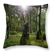 Doll Tor And More Throw Pillow