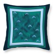 Dolphins Design Throw Pillow