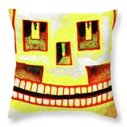 Dom The Sun Sugarskull Throw Pillow