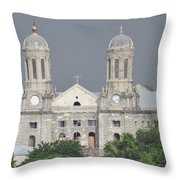 Domed Towers Throw Pillow