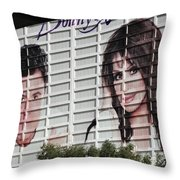 Donnie And Marie 2 Throw Pillow