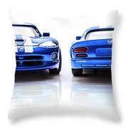 Double The Sting Throw Pillow