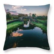 Downshire Bridge Throw Pillow