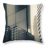 Downtown Minneapolis Throw Pillow