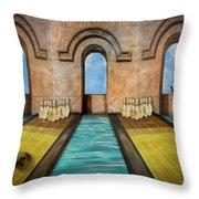 Dream Alley Throw Pillow by Paul Wear
