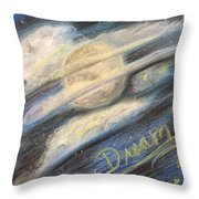 Dream Moon Throw Pillow