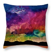 Dream Weaver Throw Pillow