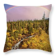 Dreams Come True With Text Throw Pillow