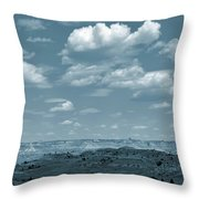 Drifting Clouds And Shifting Shadows Throw Pillow
