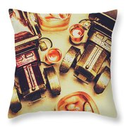 Drinks Delivery Throw Pillow