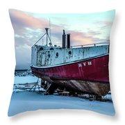 017 - Dry Dock Throw Pillow