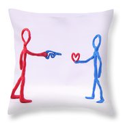 Duality  Throw Pillow