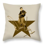 Duane Eddy  Signature Throw Pillow