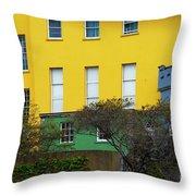 Dublin Castle Colors Two Throw Pillow