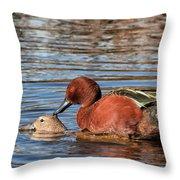 Ducky Delight Throw Pillow