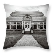 Duke Farms Conservatory Throw Pillow