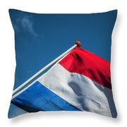 Dutch Flag Throw Pillow