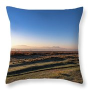 Early Morning Sunrise In Clarens Throw Pillow