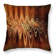 Earth Frequency Throw Pillow