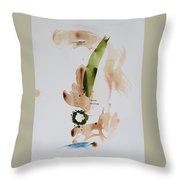 Earthborn Throw Pillow