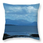East Shores Of Isle Of Skye Throw Pillow