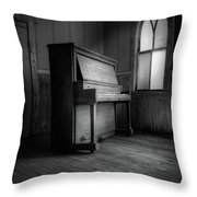 Echoes Of Silenced Voices Throw Pillow