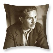 Ed F. Ricketts, Marine Biologist, Was The Inspiration For Doc  1936   Throw Pillow by California Views Archives Mr Pat Hathaway Archives