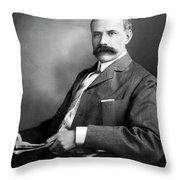 Edward Elgar Studio Portrait Throw Pillow