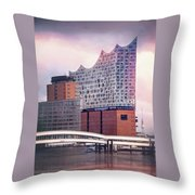 Elbphilharmonie Hamburg Germany  Throw Pillow