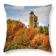 Elevator Top Throw Pillow
