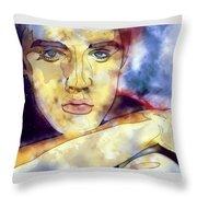 Elvis Presley 3 Throw Pillow