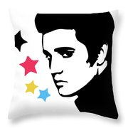 Elvis Presley 4 Throw Pillow