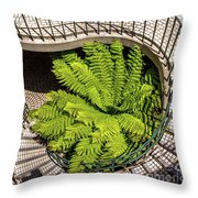 Embarcadero Stairway Throw Pillow by Kate Brown