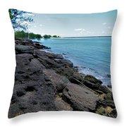 Embley River 2 Throw Pillow