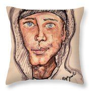 Eminem  Marshall Mathers Throw Pillow